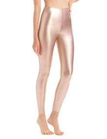 Commando Perfect Control Faux Leather Legging SLG06 Rose Gold