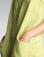 Tempo Paris Linen Embroidered Dress 70864H Citron