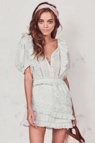 Love Shack Fancy Sutton Dress Mineral