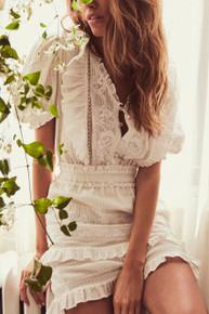 Love Shack Fancy Sutton Dress Cream Puff