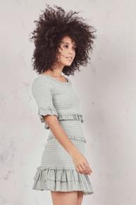 Love Shack Fancy Aveline Dress Seaglass