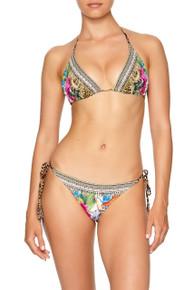 Camilla Reversible Triangle Bikini Set Champagne Coast