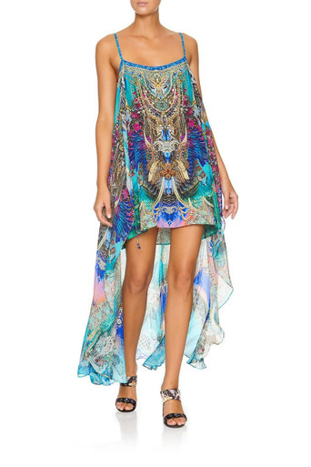Camilla Mini Dress with Overlay Freedom Flight