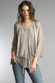 Tempo Paris Silk Top 62029L Taupe