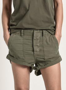 One Teaspoon Cutoff Denim Shorts Militaire  Bandits