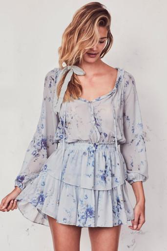 Love Shack Fancy Popover Dress Celestia
