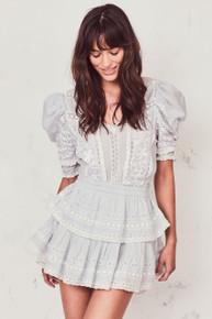 Love Shack Fancy Marissa Dress Riviera