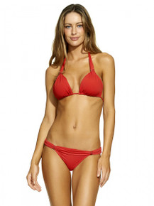 Vix Swimwear Bia Tube Bikini Set Watermelon