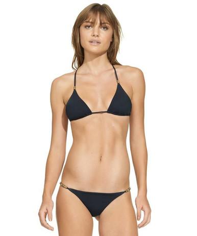 Vix Swimwear Black Shaye Cheeky Triangle Bikini Set