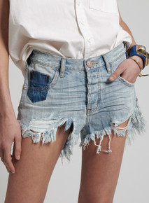 One Teaspoon Cutoff Shorts Le Wolves Hustler