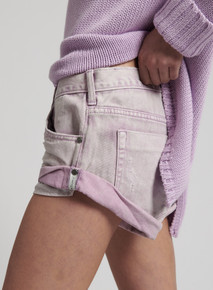 One Teaspoon Denim Shorts Moonstone Bandits