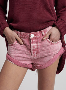 One Teaspoon Denim Shorts Ruby Bandits