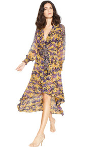 Misa Los Angeles Shiloh Wrap Dress