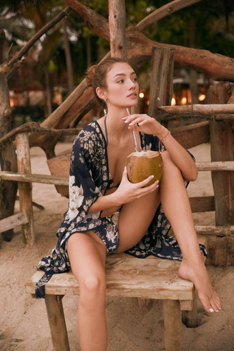 2020 Agua Bendita Madame Story Cora Tunic