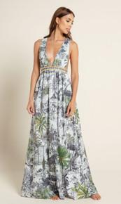 2020 Agua Bendita Makera Story Naturalia Maxi Dress