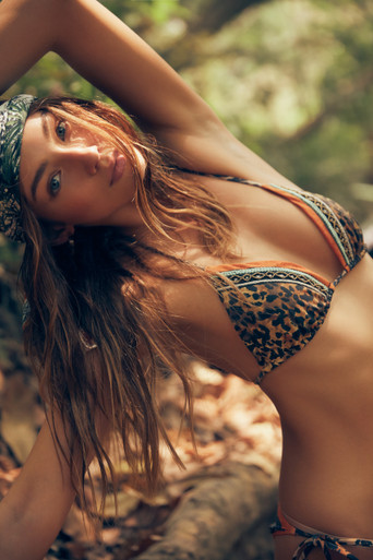 2020 Agua Bendita Makera Story Lolita Alegria Bikini Set Leopard Print