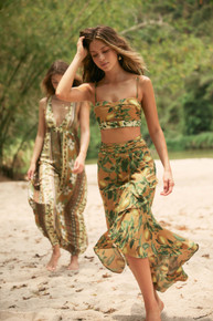 2020 Agua Bendita Evergreen Story Sofia Skirt