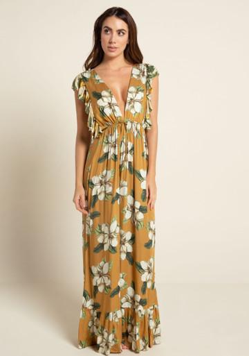 2020 Agua Bendita Evergreen Story Emilia Dress