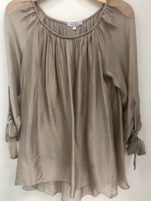 Tempo Paris 1709B Silk Top Taupe