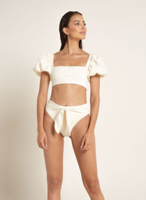 2020 Agua Bendita Palette Calista Isabella Bikini Set Ivory
