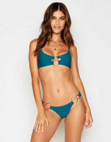 Beach Bunny Swimwear Lexi Nadia Bikini Set Teal