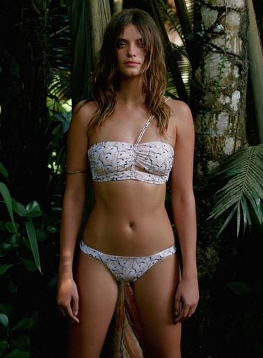 Vix Swimwear Spring Vanilla Georgia Fanny Bikini Set