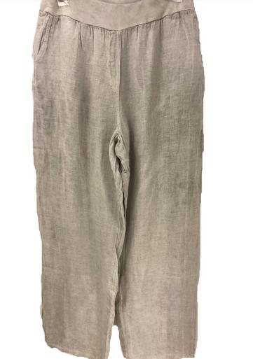 Tempo Paris Linen Pant 1500E Silver