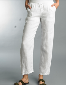 Tempo Paris Linen Pant 1500E White