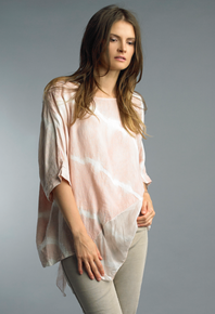 Tempo Paris Linen Silk Top 9253C Blush