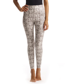Commando Perfect Control Faux Leather Legging SLG50 White Snake