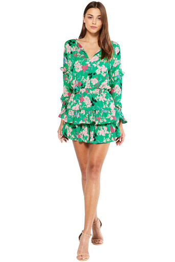 MISA Los Angeles Amalya Dress Peony