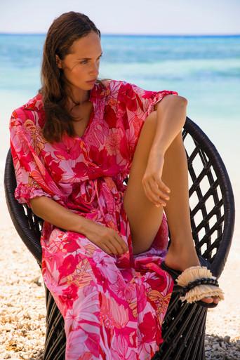 One Season Australia Jasmine Dress Valencia Print