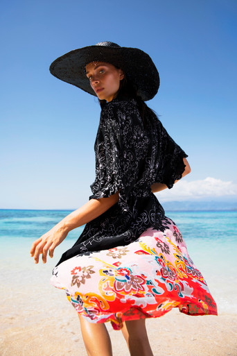 One Season Australia Jasmine Dress Playa Print