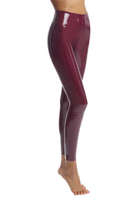 Commando Perfect Control Faux Leather Legging SLG25 Patent Burgundy