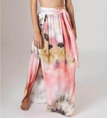2020 Agua Bendita Shibori Story Amaia Skirt