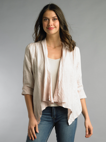 Tempo Paris Linen Jacket 192H Blush
