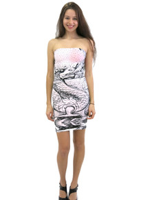 Letube Dragon Convertible Tube Dress