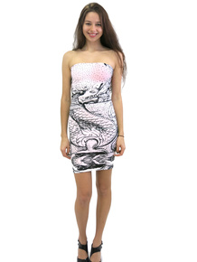 Letube Dragon Convertible Tube Dress