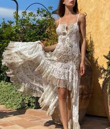 Antica Sartoria Positano High Low Dress J0236