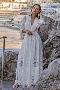 Antica Sartoria Positano Maxi Dress J392