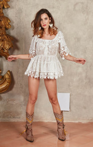 Antica Sartoria Positano Blouse or Dress J356