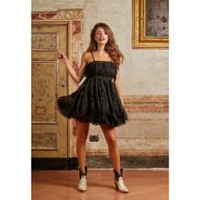 Antica Sartoria Positano Short Dress P013 Black