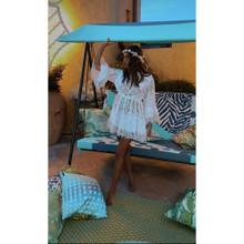 Antica Sartoria Positano Short Dress P095 White