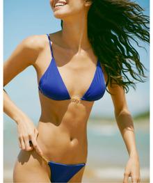 Vix Swimwear Klein Chain Bikini Set Royal Blue