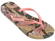 2020 Ipanema Pop Flip Flops Beige Pink