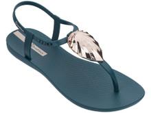 2020 Ipanema Leaf Sandal Teal Blue