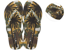 2020 Ipanema I Love Sun Flip Flops Green
