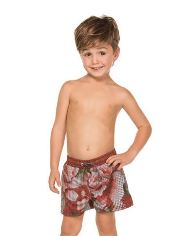 Agua Bendita Nick Boys Swim Shorts Koharu