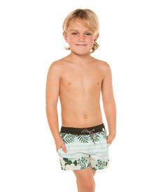 Agua Bendita Nick Boys Swim Shorts Camellia
