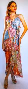 Trisha Paterson Silk Goldie Wrap Dress